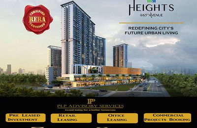 M3M Heights Sector 65 Gurgaon-2/3Bhk apartments in Gurgaon