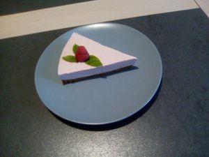 Cheesecake à la framboise (companion ou pas)