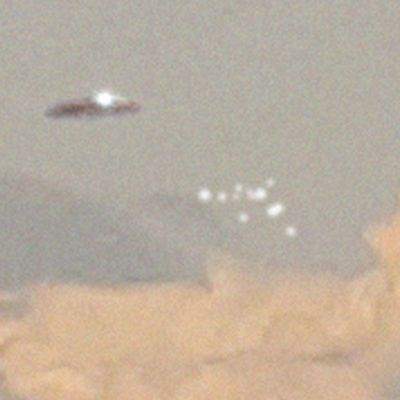 👽 UFO Spotted in Stormy Clouds Over Portugal