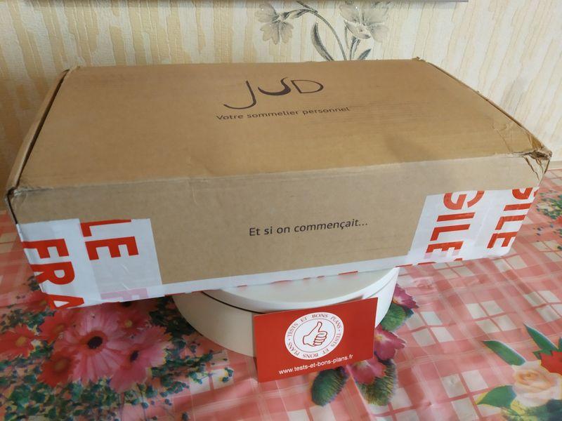 unboxing de la box mensuelle - Les vins JUD (vins éthiques et Bio) @ Tests et Bons Plans