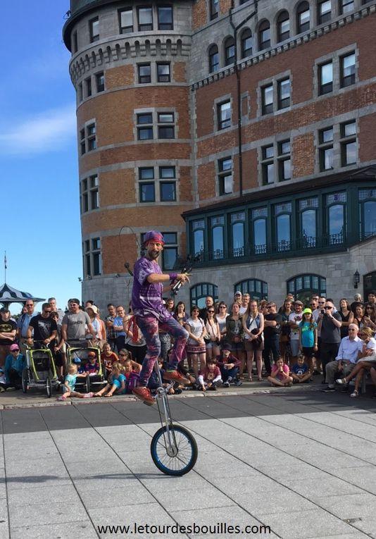 Les villes de Quebec et Montreal - 08 / 11 AOUT 2016