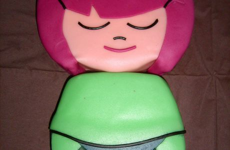 Gâteau poupée Momiji Lucky...