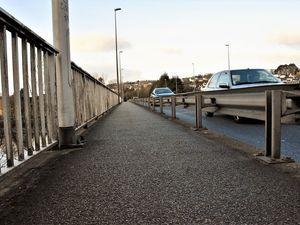 Passage sur le pont