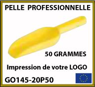 Collection de pelles de mesures professionnelles de 50g à 2kg