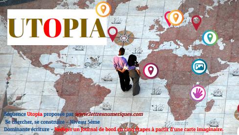 Utopia - Les oeuvres des 5ème 3 et des 5ème 6 du collège Jean Lachenal, Faverges-Seythenex