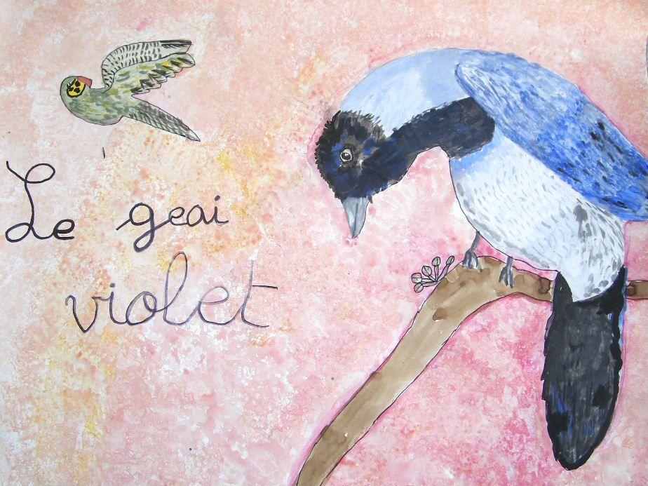 Les oiseaux du monde se sont arrêtés à Poisy le temps des vacances.