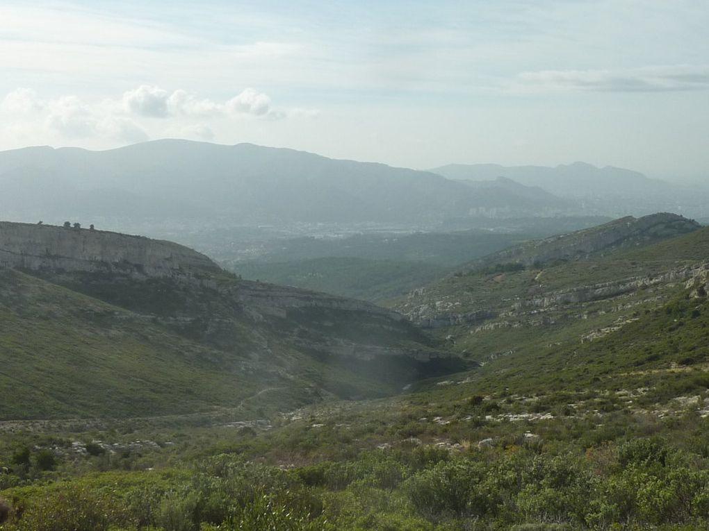Le Garlaban, d'Allauch au Pic du Taoumé!