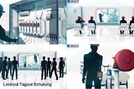 Lockout/Tagout Schulung für Mitarbeiter-Ausbildung und eigenes LoTo-Programm