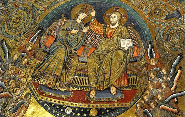 Marie, l'épouse de Jésus et le baiser échangé