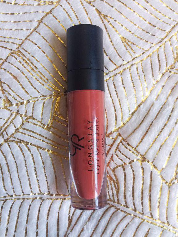 Golden Rose, Long Stay, Liquid Matte Lipstick