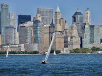 Battery Park en bateau et la découverte d'Ellis Island