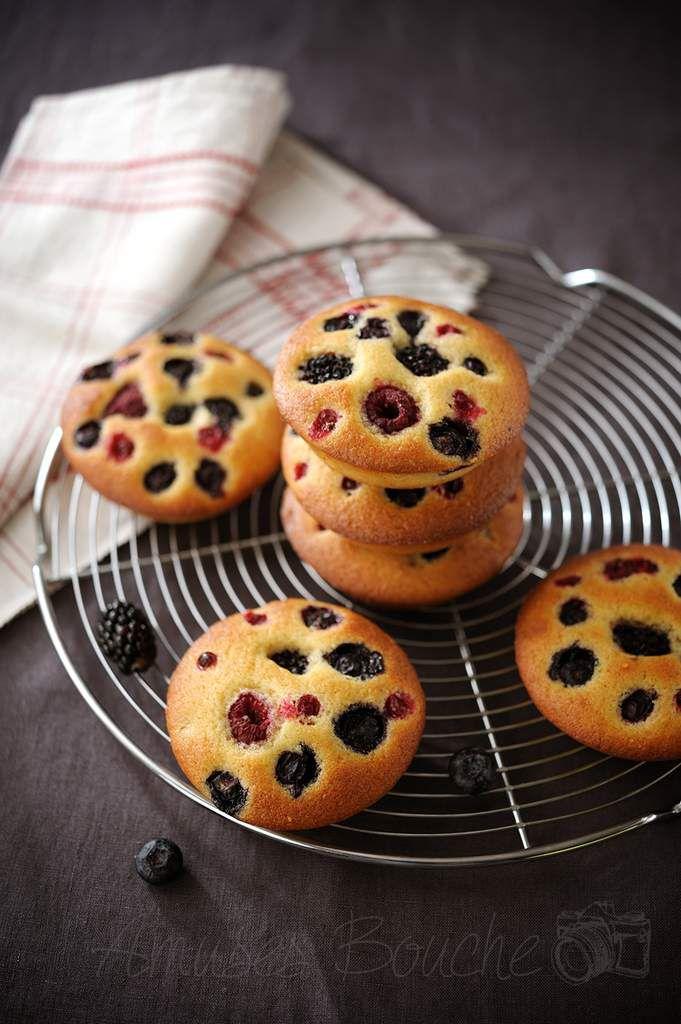 Gâteaux moelleux aux fruits rouges
