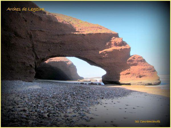 Legzira  beach............