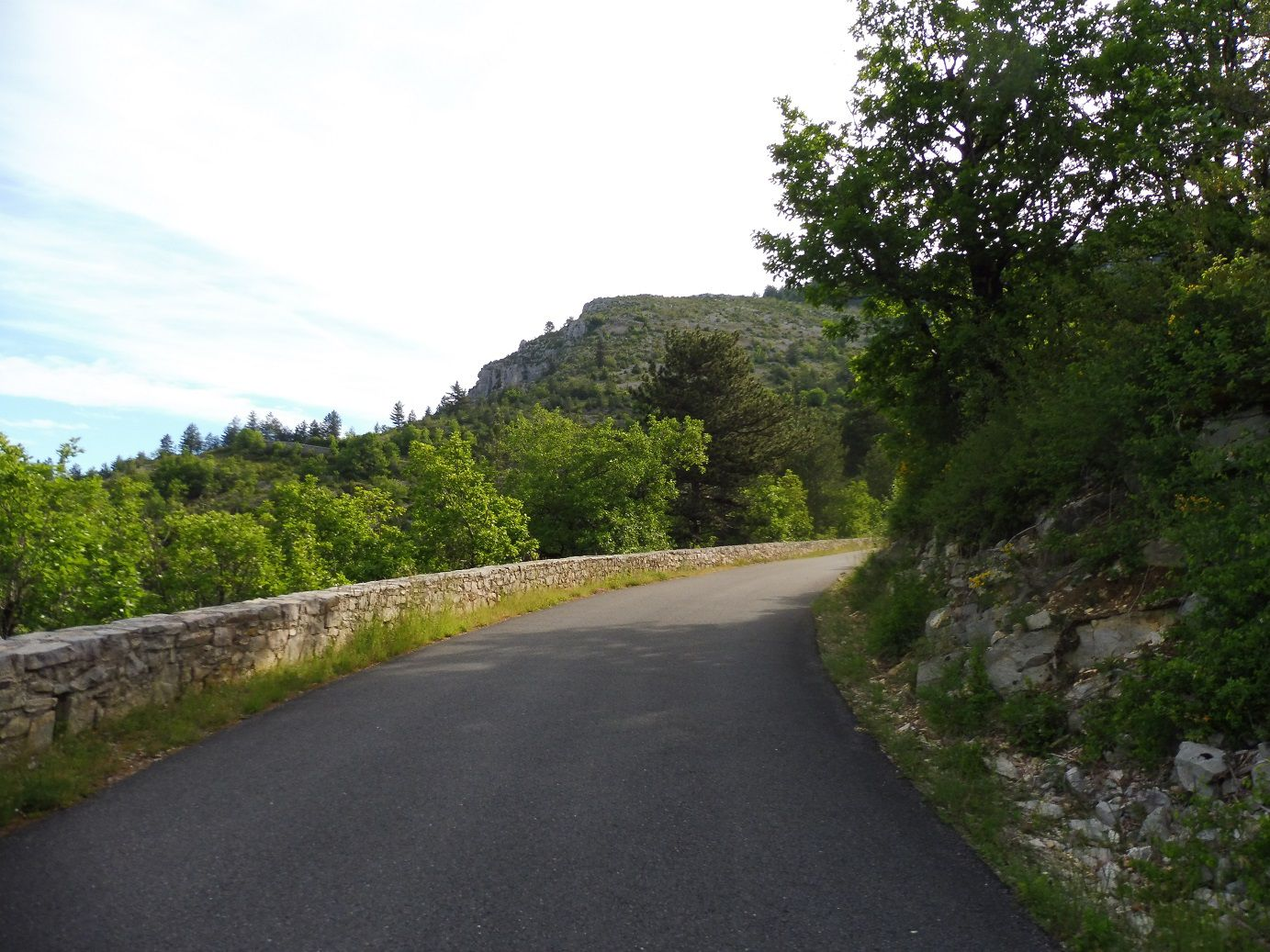 Chanac (48) - Cassagnas (48) à vélo.