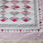 Quilting in the border - Stitched in Color