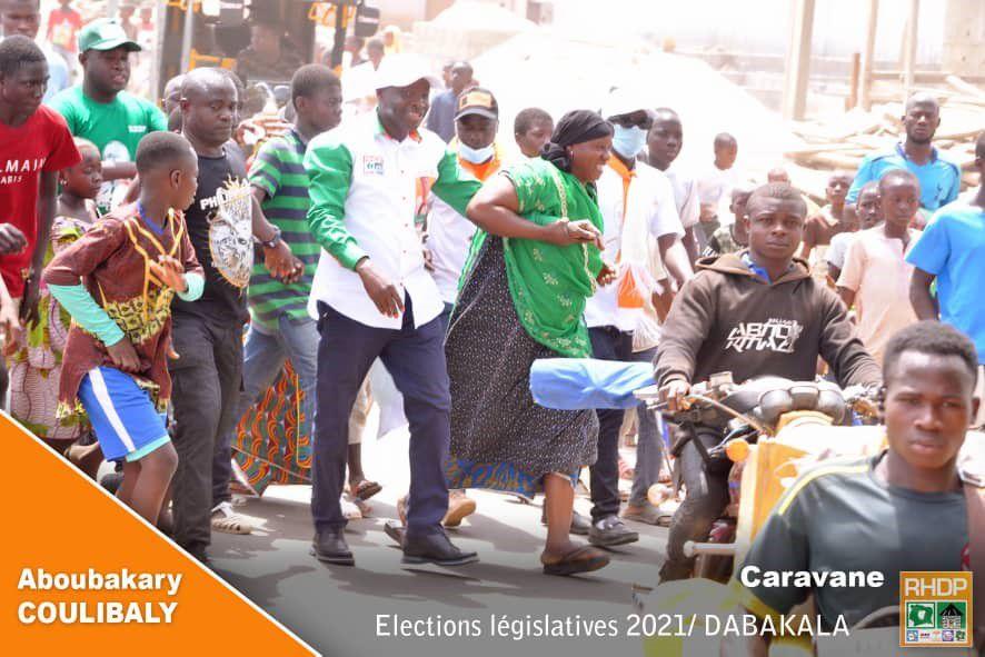 Législatives à Dabakala et sous-préfectures : Aboubakary Coulibaly crée l'émeute à Dabakala
