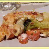 Gratin de poissons aux légumes - Oh, la gourmande..