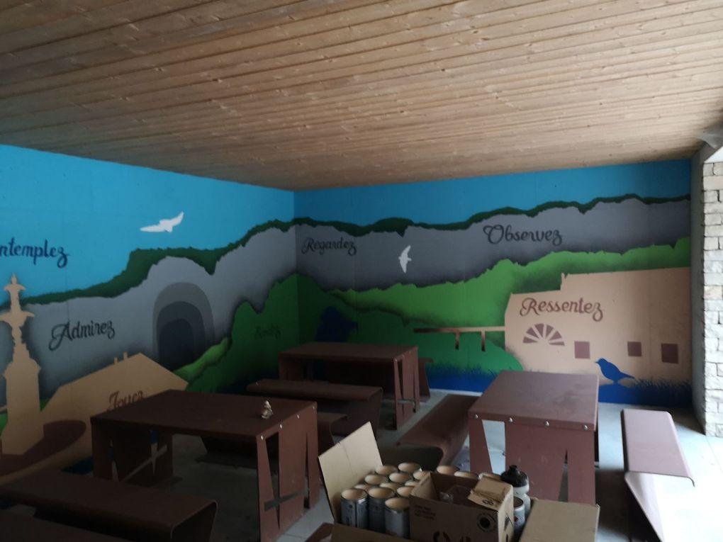 Une fresque pour l'Espace Beauquier...