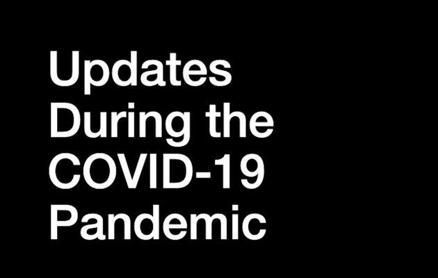 Updates During the COVID-19 Pandemic