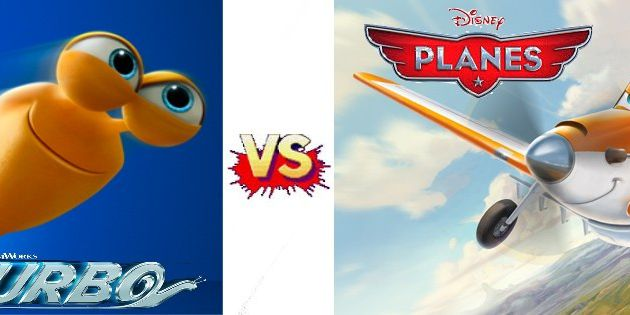 Le clash : Turbo vs Planes