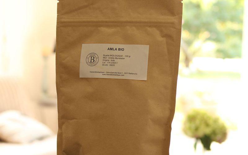 Amla Bio poudre ayurvédique sacrée pour le volume & la brillance