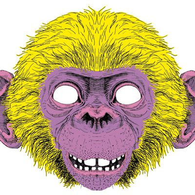 masque bonobo #3