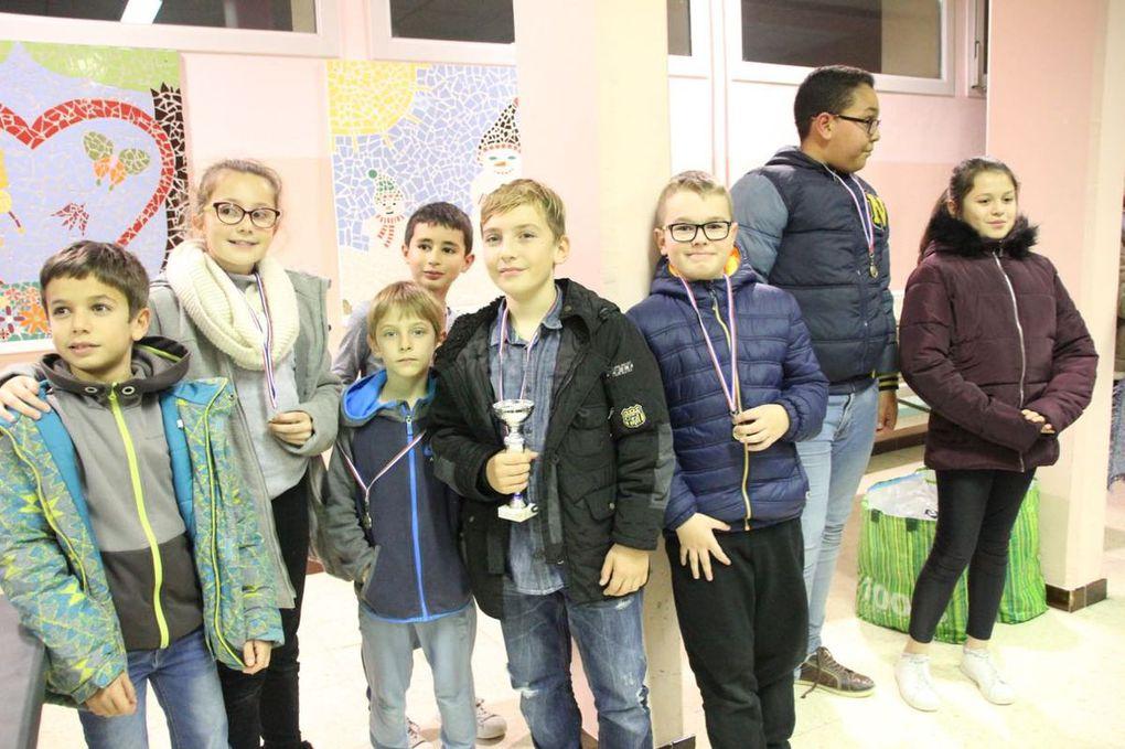 Championnat de Vaucluse des Écoles 2018 : Orange largement devant...