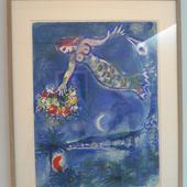 Nice, sun, flowers. Marc Chagall and the bay of angels - artetcinemas.over-blog.com