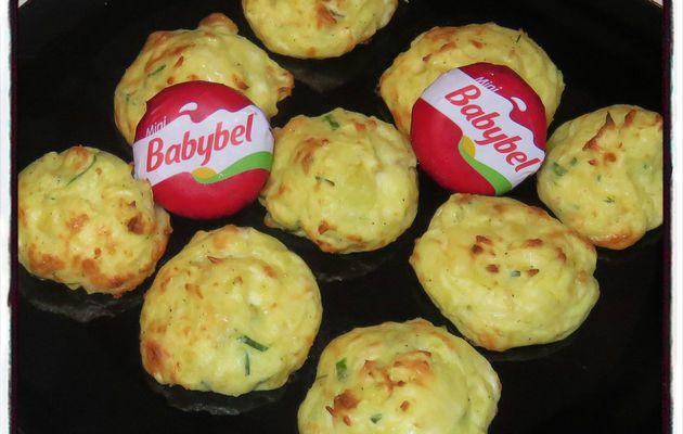 Chouquettes de pomme de terre au babybel