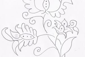 Free : broderie traditionnelle