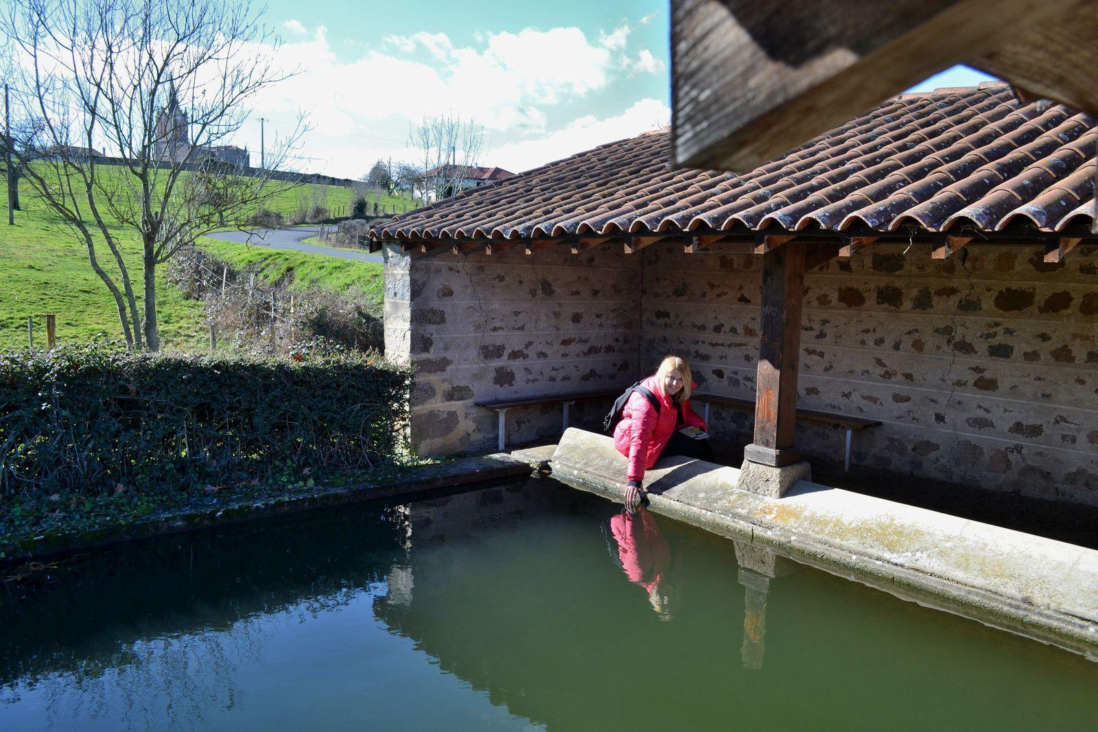 Balade jusqu'à la Croix de la Sauteuse dans la Loire...
