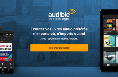 Bon Plan : livres audio et podcasts Audible à -70% pendant 3 mois