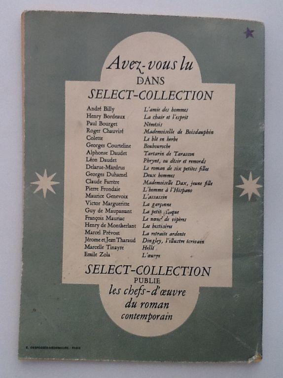 L'oeuvre en 2 volumes / 09-1948/ Flammarion SELECT-COLLECTION / n° 158 et 159
