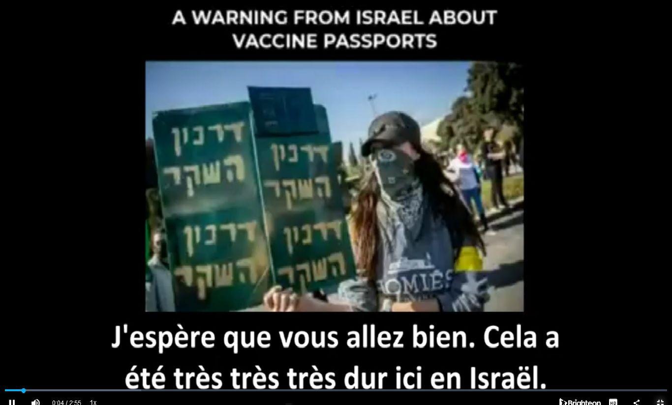 Israel et les injections