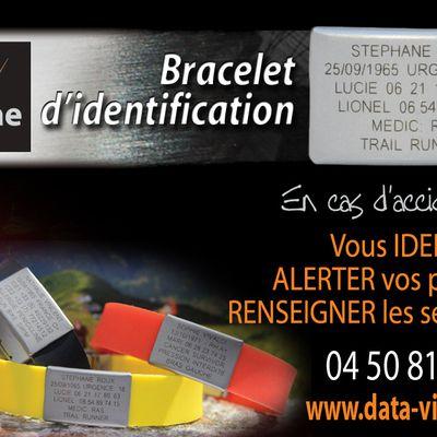 Bracelet d'identification DATA VITAE