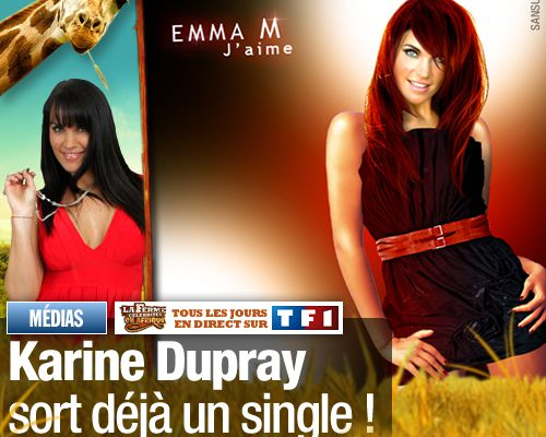 Karine Dupray sort déjà un single !