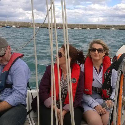 Sailing avec le département Légal