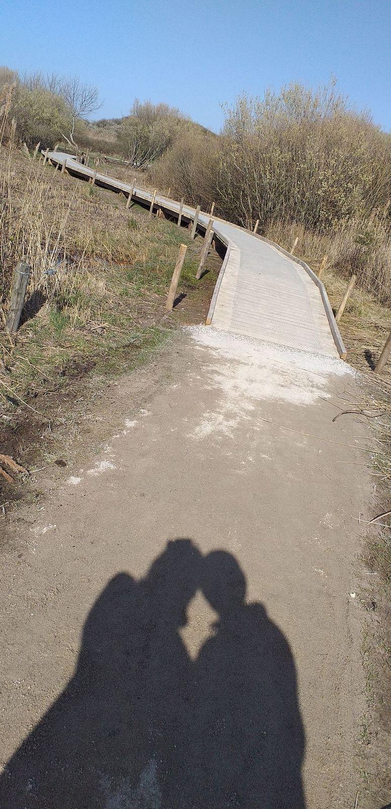 promenade au parc de la falaise, le Portel ; Victoria Lynn