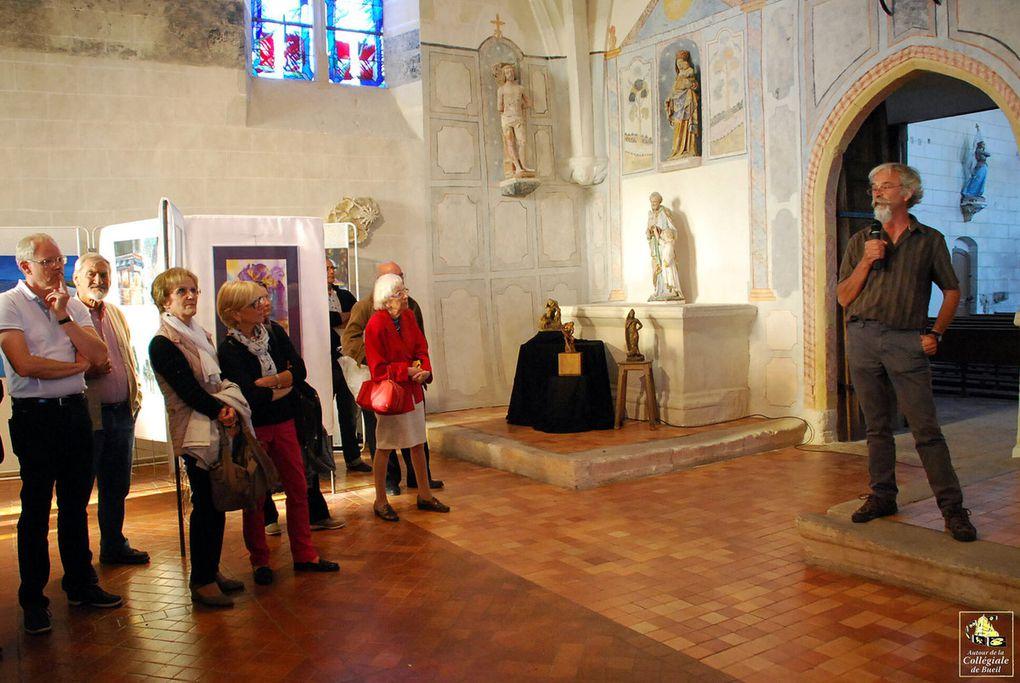 Remise des prix au salon de peintures et sculptures de Bueil-en-Touraine