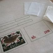 The Craft Room: Mattress Pincushion - Doing It My Way And A Little Extra (Photo Heavy)