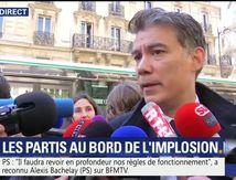 Hué, insulté, conspué : Olivier Faure et des militants du PS obligés de quitter la manifestation des cheminots
