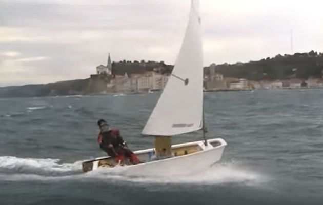 VIDEO - The Optimist, the very first sailboat of many sailors... with surprising performances