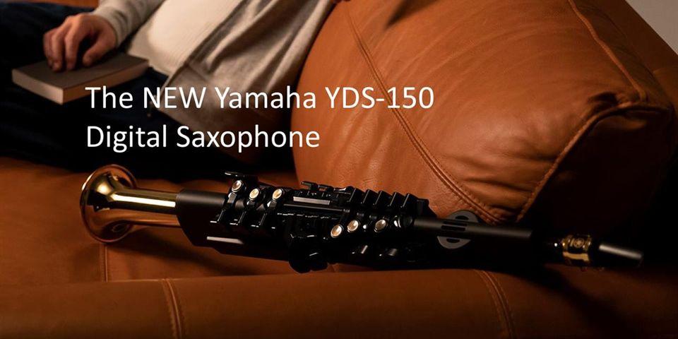 L'étonnant saxophone électronique Yamaha YDS-150