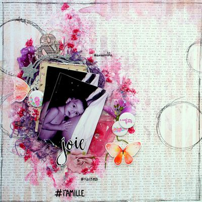 Nouvelle collection Accent Scrapbooking de Mars
