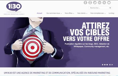 L'agence digitale 1min30 lance l'Inbound Marketing en France