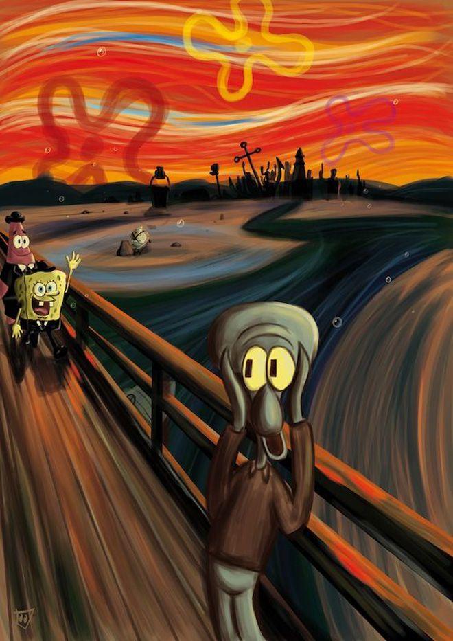 La pop culture s'empare a son tour de l'oeuvre de Munch