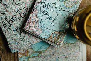 Page explicative pour le carnet de voyage