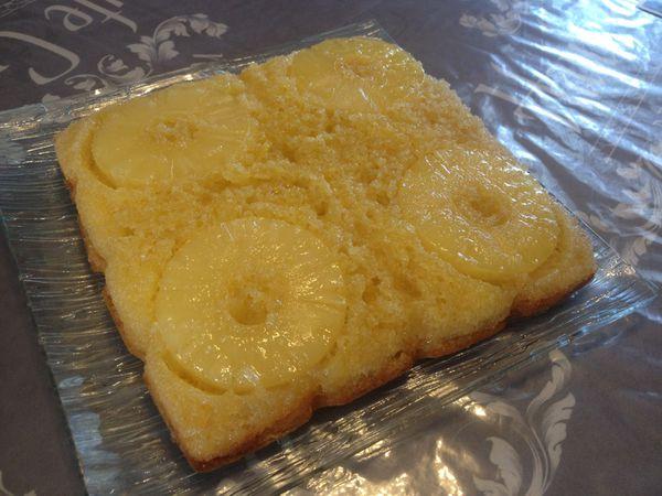 Gâteau extra moelleux à l'ananas