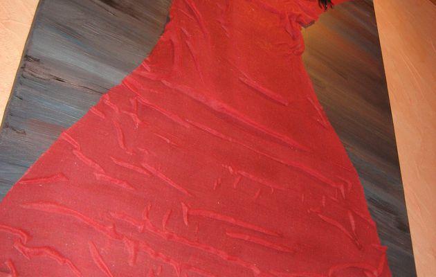 grande toile à la robe