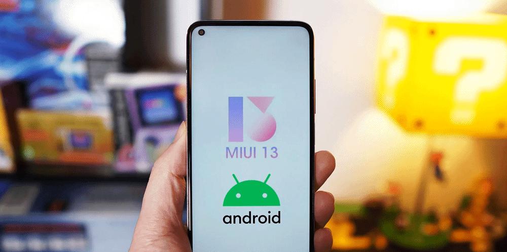 Xiaomi Android 12 et MIUI 13